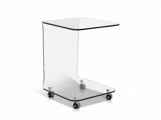 PEPPE Beistelltisch, Material Glas
