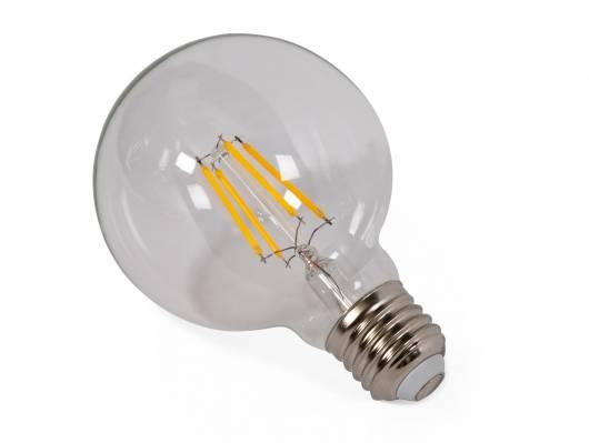 3er Set LED-Glühbirnen rund, E27, 4 Watt, warmweiss