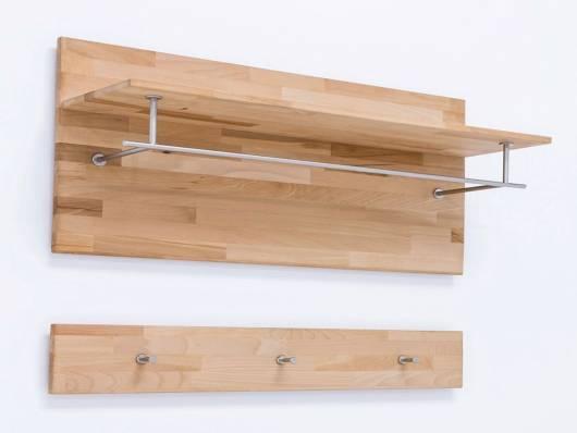 FANJA Garderobenpaneel / Kombigarderobe, Material Massivholz
