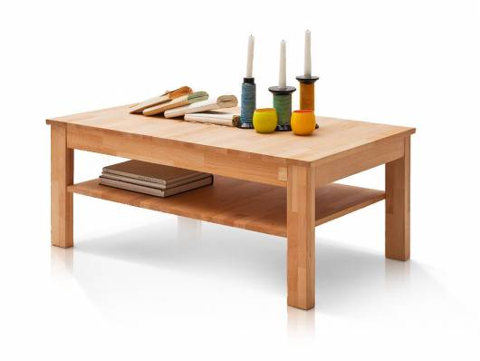 FANJA Couchtisch, Material Massivholz