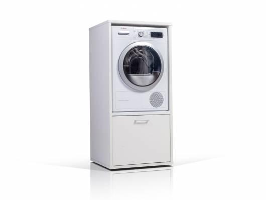 WASH TOWER Waschmaschinenschrank weiss