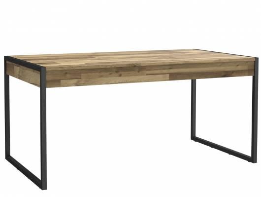 HANIKA Esstisch 166x90 cm, Material Dekorspanplatte, eichefarbig