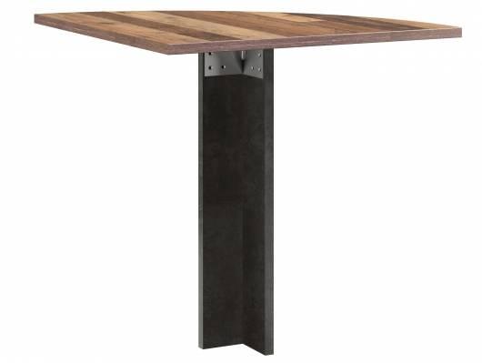 CASSIA Verkettungsplatte, Material Dekorspanplatte, Old Wood Vintage/betonfarbig