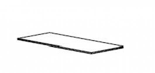 ROMAN 1 Stk. Einlegeboden groß (weiß gewachst)