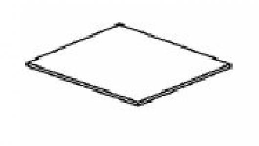 ROMAN 1 Stk. Einlegeboden (weiß gewachst)