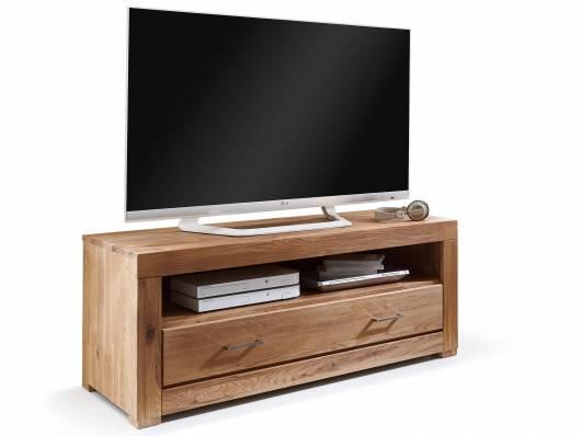 ALANDO Lowboard I, Material Massivholz, Wildeiche geölt