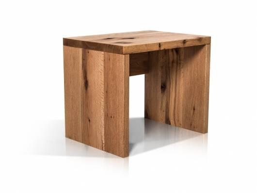 LIAS Nachtkommode, Material Massivholz, Wildeiche geölt