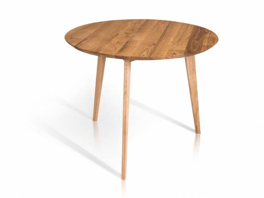 AUSTIN Esstisch rund 90 cm, Material Massivholz
