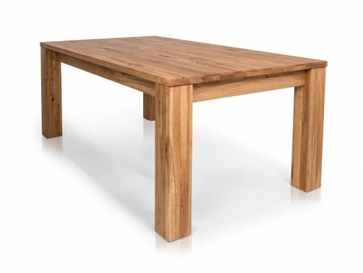 heiko massivholztisch ausziehtisch material massivholz wildeiche geolt