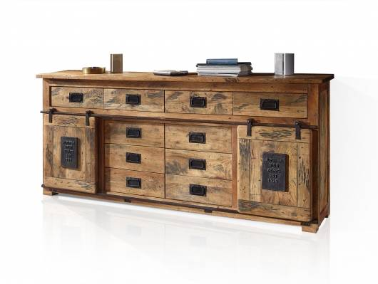 BRISTOL Sideboard IV, Material Massivholz, Mango rustikal