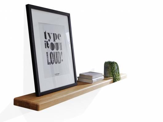LAGOS Wandboard I, Material Massivholz, Wildeiche