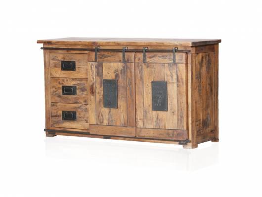 BRISTOL Sideboard V, Material Massivholz, Mango rustikal