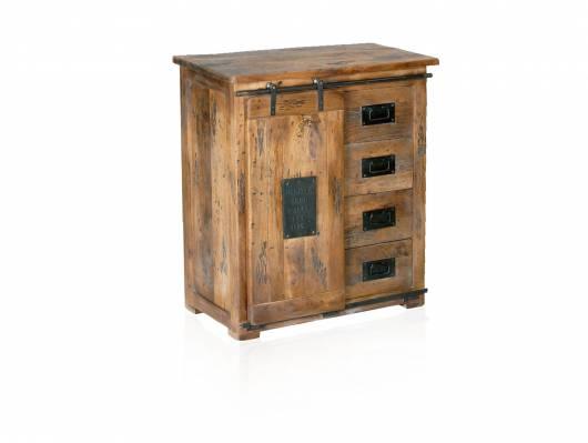 BRISTOL Sideboard VIII, Material Massivholz, Mango rustikal