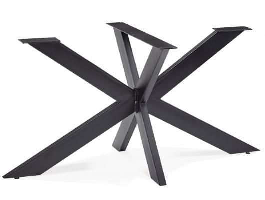 KABIRA Doppel-X, Material Metall, schwarz lackiert