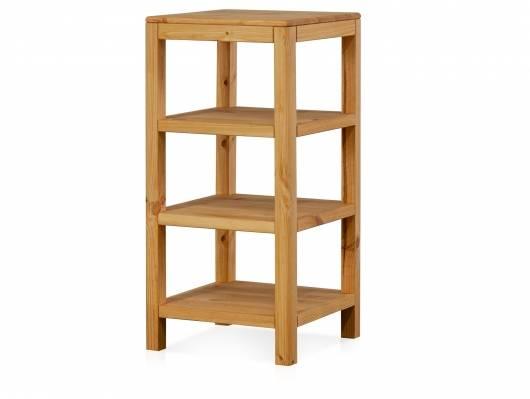 RICHY Regal, Material Massivholz, Kiefer eichefarbig gebeizt