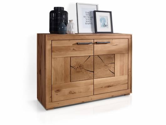 WINSTON II Sideboard, Material Massivholz, Wildeiche geölt