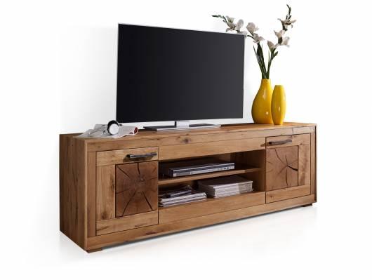 WINSTON TV-Element IV, Material Massivholz, Wildeiche geölt