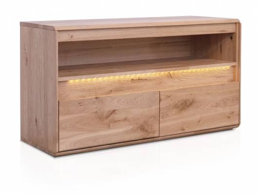 SAMBUCA TV-Element I, Material Massivholz, Wildeiche geölt