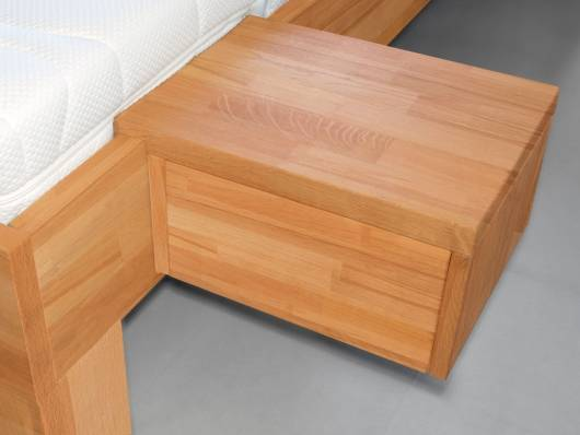 LÖWEN/WOODLINE II Nachtkommode, Material Massivholz