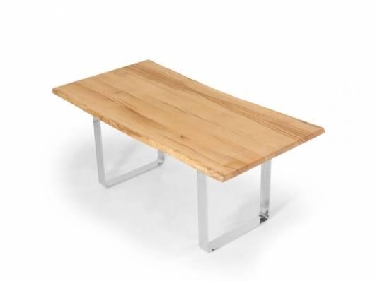 ZWEIGELT Esstisch / Baumkantentisch / Maßesstisch, Material Massivholz