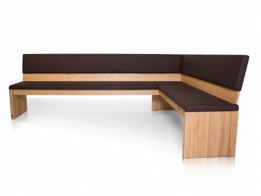 MALTA Eckbank nach Maß, Material Massivholz
