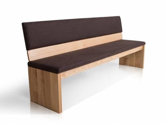 MALTA Sitzbank nach Maß, Material Massivholz