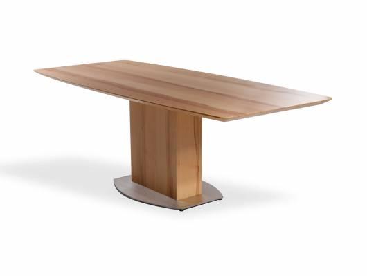 TALINA Maßesstisch / Säulenesstisch, Material Massivholz/Edelstahl