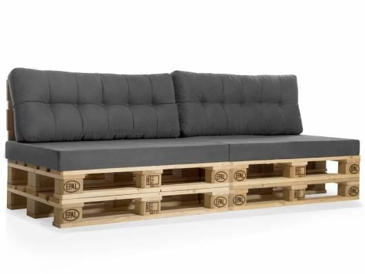 PALETTI Europaletten-Sofa, 3-Sitzer, Fichte massiv