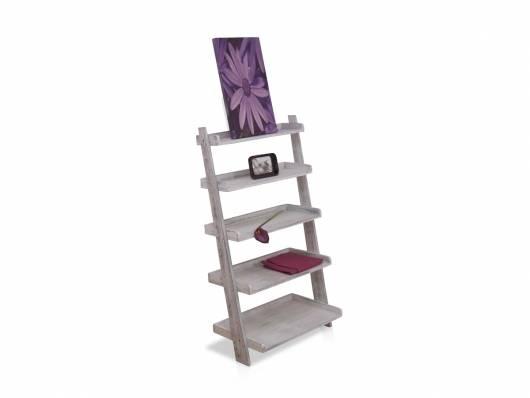 melanie standregal wei used look. Black Bedroom Furniture Sets. Home Design Ideas