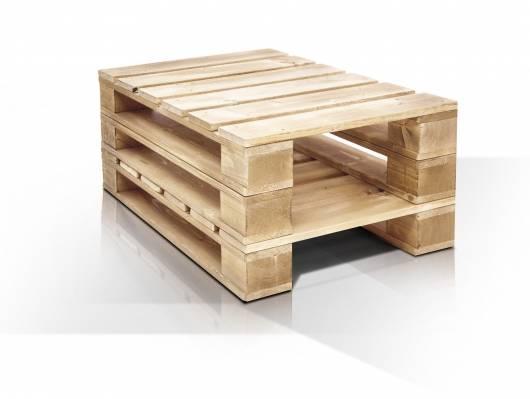 paletti couchtisch iii aus paletten 60x90 cm natur. Black Bedroom Furniture Sets. Home Design Ideas