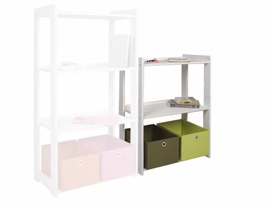 b cherregal regal kieferregal 3 b den kiefer wei. Black Bedroom Furniture Sets. Home Design Ideas