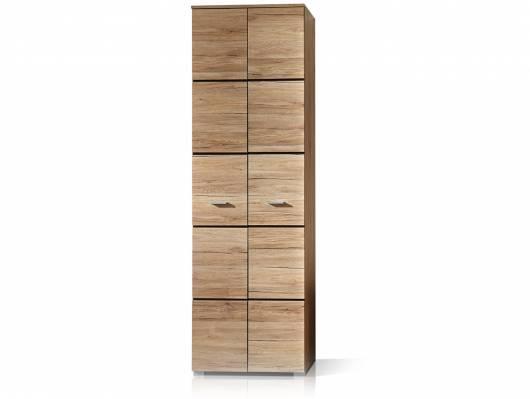 FEODORA Garderobenschrank, Material Dekorspanplatte, sanremofarbig