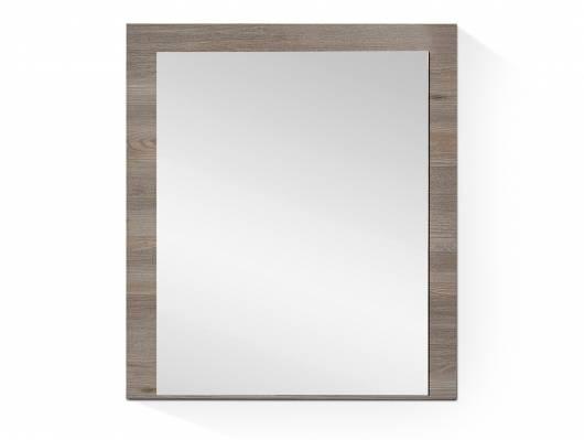 RICK Spiegel, Material Dekorspanplatte, silbereichefarbig