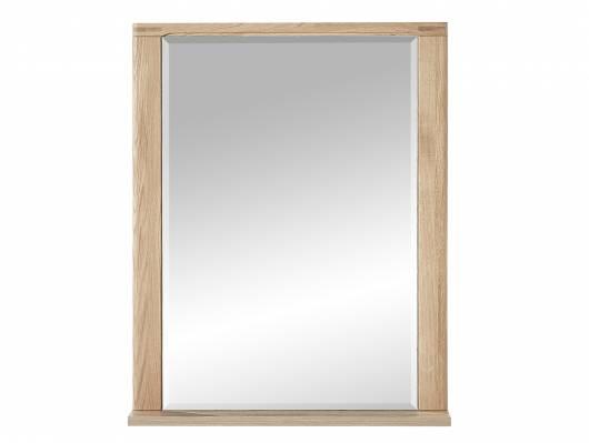 NEW YORK Spiegel 74x93 cm, Material Teilmassiv, Wildeiche biancofarbig