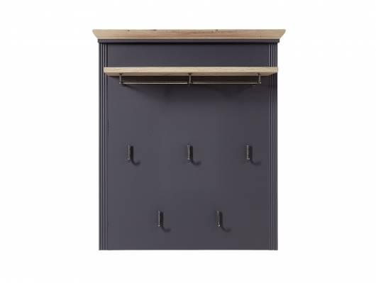 JADY Garderobenpaneel mit Ablageboden, Material MDF