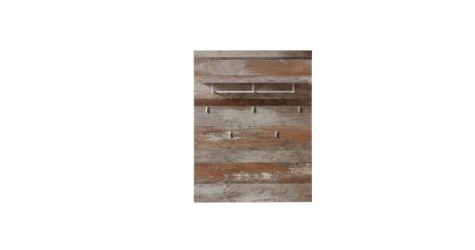 CAMENA Garderobenpaneel, Material MDF, Driftwood Nachbildung
