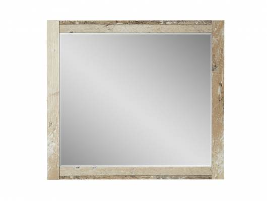 RAMINA Spiegel, Material Dekorspanplatte, Used Style braun