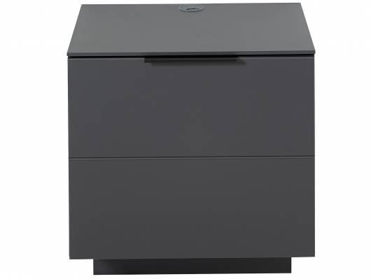 MOSANTA Unterteil mit Tür, Material MDF, graphitfarbig