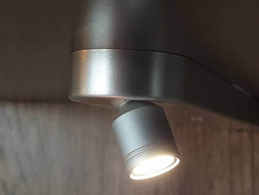 MILTON LED Beleuchtung 2er Set, warmweiss