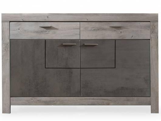 GOLONA Sideboard, Material MDF, haveleichefarbig/betonfarbig