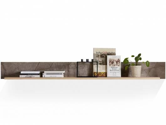 SILVANO Wandboard, Material MDF, Artisan eichefarbig