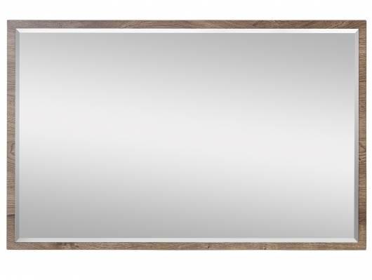 MILTON Spiegel, Material Dekorspanplatte, eichefarbig