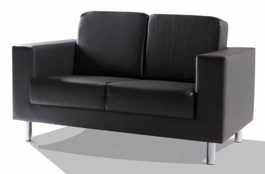 SUSI 2-Sitzer Sofa, Material Kunstleder