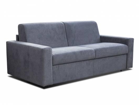 LORCON 3-Sitzer Schlafsofa mit vollwertiger Matratze, mit Stoffbezug