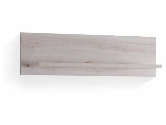 CIPPY Wandregal, Material Dekorspanplatte, silbereichefarbig