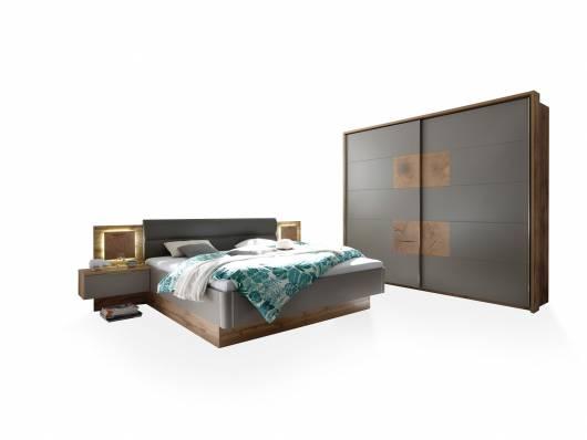 CAMERON I Schlafzimmer inkl. Nakos, Material Dekorspanplatte