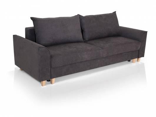 JENS Sofa 3-Sitzer anthrazit