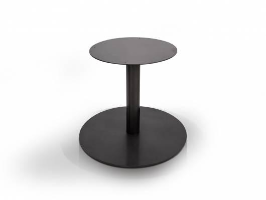 Tischgestell für GASTRO Esstisch rund, Material Stahl, schwarz