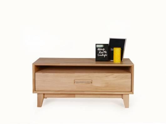 NEPAL I TV-Lowboard, Material Massivholz, geölt