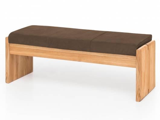SCOTT Sitzbank / Truhenbank, Material Massivholz/Bezug Kunstleder